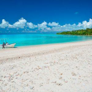 White Sand Beach © Kiribati