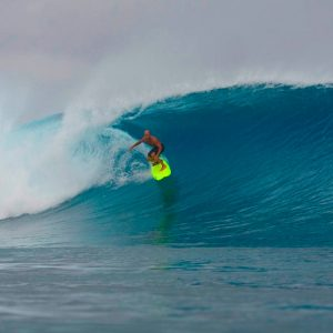 Fanning Island Surfing